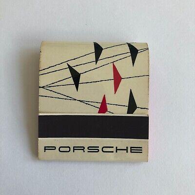 1960 1961 Porsche 356 A B Match Book Box - Advertisement Brochure Promo Original