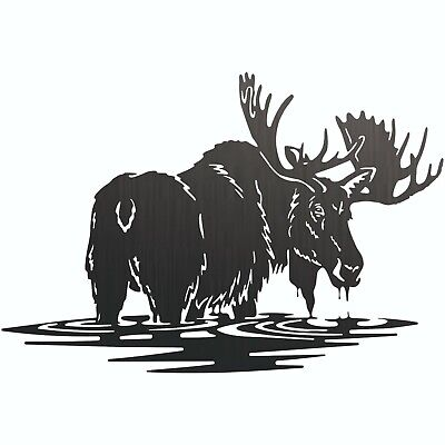 Bull Moose Dxf Cnc Sign For Plasma Laser Waterjet Router Plotter Cut Vector File