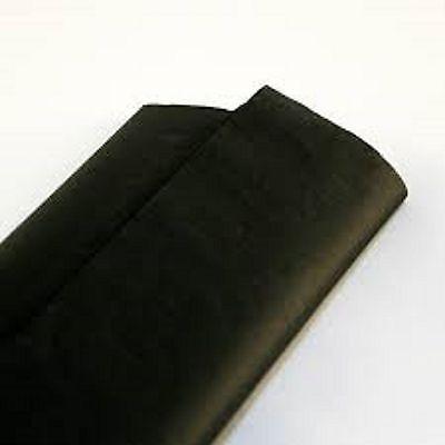 10 feuilles de soie papier mousseline 50 x 75 noir NEUF