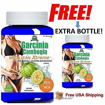 Pure Garcinia Cambogia Extract Maximum 95  Hca Slim Weight Loss  Bogo Deal
