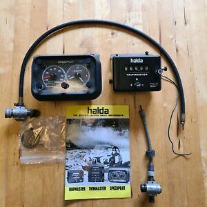 Halda metal trip master and speedpilot MkV. Original box