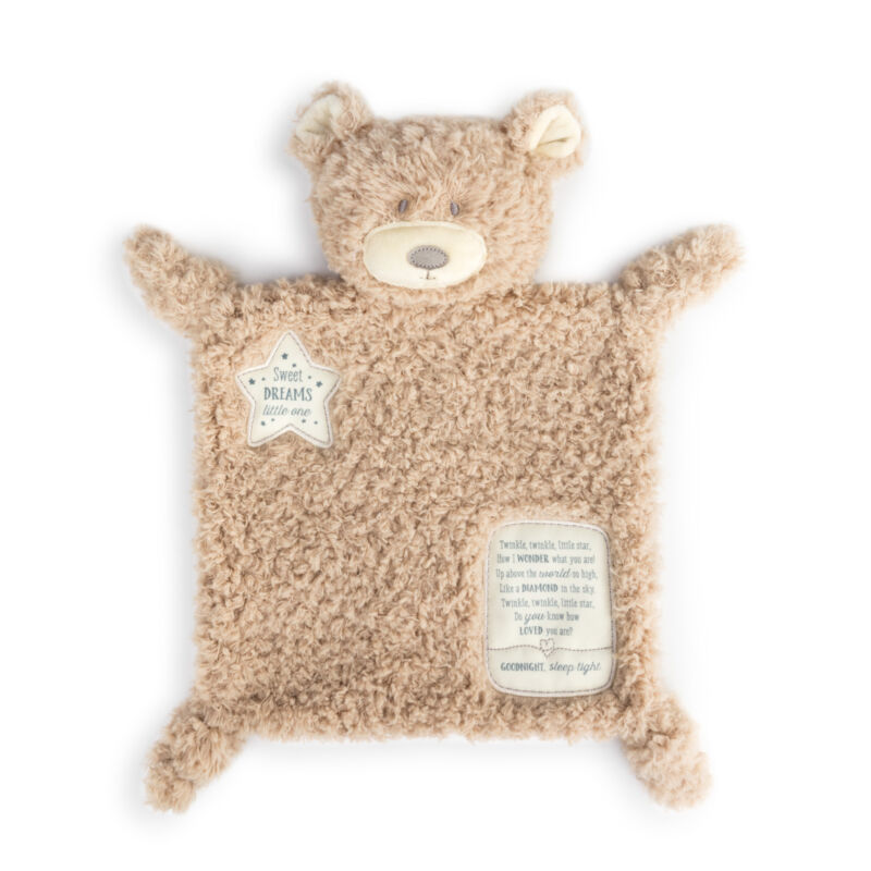 Demdaco  Brown Bear Sweet Dreams Plush Children