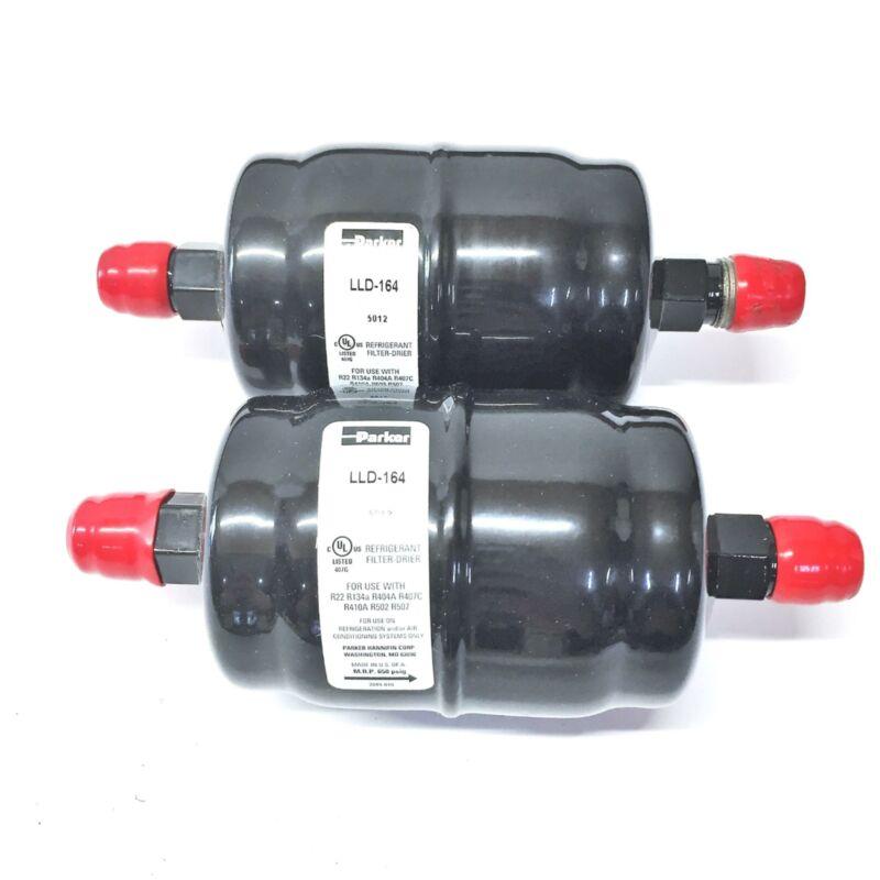 Parker Liquid Line Filter Drier LLD-164 (033199-164) [Lot of 2] NOS
