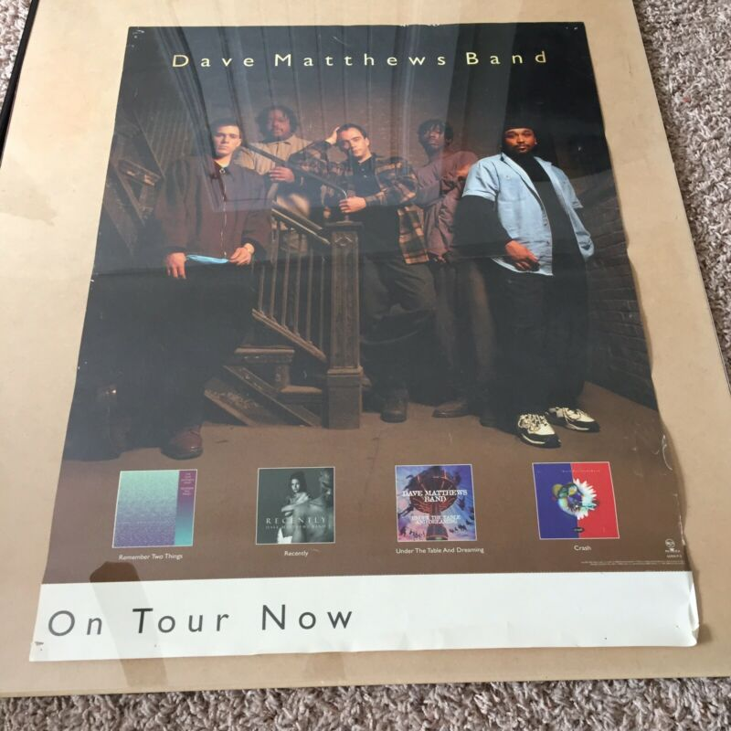 Vintage Dave Matthews Band RCA 1997 promo poster