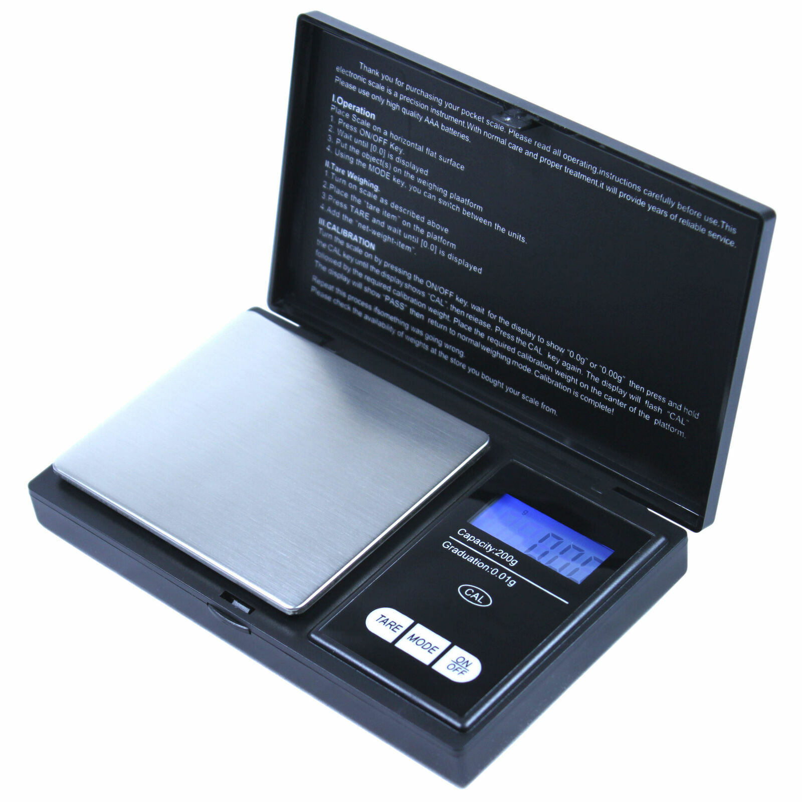 45b8a3fab590 CS-100 Digital Portable Jewerly Scale 100g by 0.01g Precision