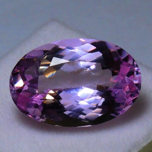 Natural 11.50 Ct Certified Brazil Purplish Pink Kunzite UNHEATED Loose Gemstones