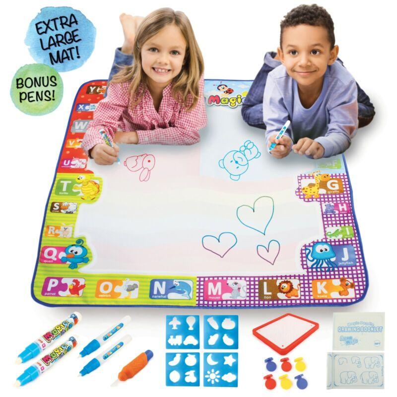 NEW water drawing aqua magic mat, drawing painting activity for kids L