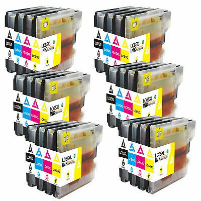 24pk Ink Set Combo For Brother LC61 LC-65  MFC 250C 255CW 290C 295CN 490CW 495CW Brother Lc61 Compatible Inkjet