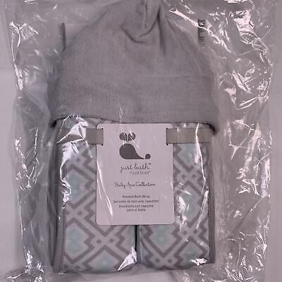 Just Born Hooded Bath Towel - Toddler/Infant - Ultra Absorbent