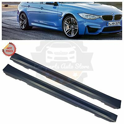 12 18 F80 M3 STYLE SIDE SKIRTS SET PAIR FOR ALL BMW F30 F31 3 SERIES SEDAN WAGON