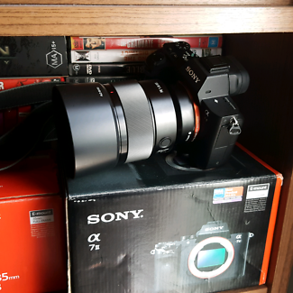 Sony a7ii kit with lenses