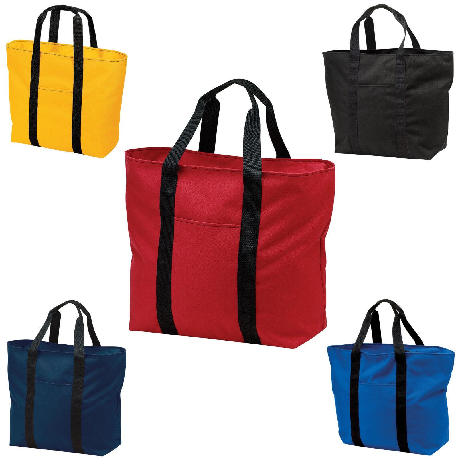 Extra Large Zippered Tote Bag Beach Bag All Purpose Tote Cra