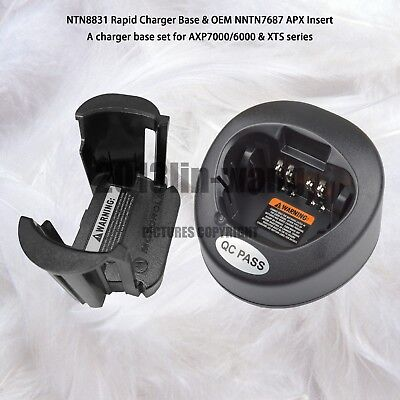 Impetuous Charger Base Set For MOTOROLA APX7000 APX6000 & XTS Series Walkie Talkie
