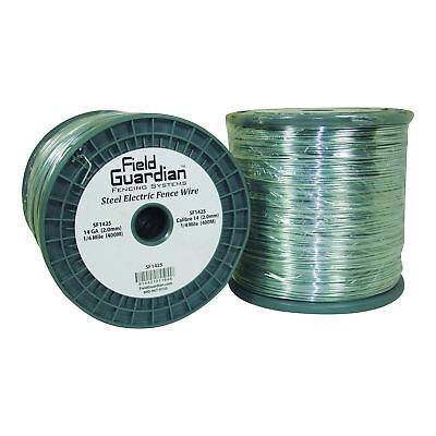 Field Guardian 14 Ga Galvanized Steel Wire 14 Mile Usa Sf1425 814421011848