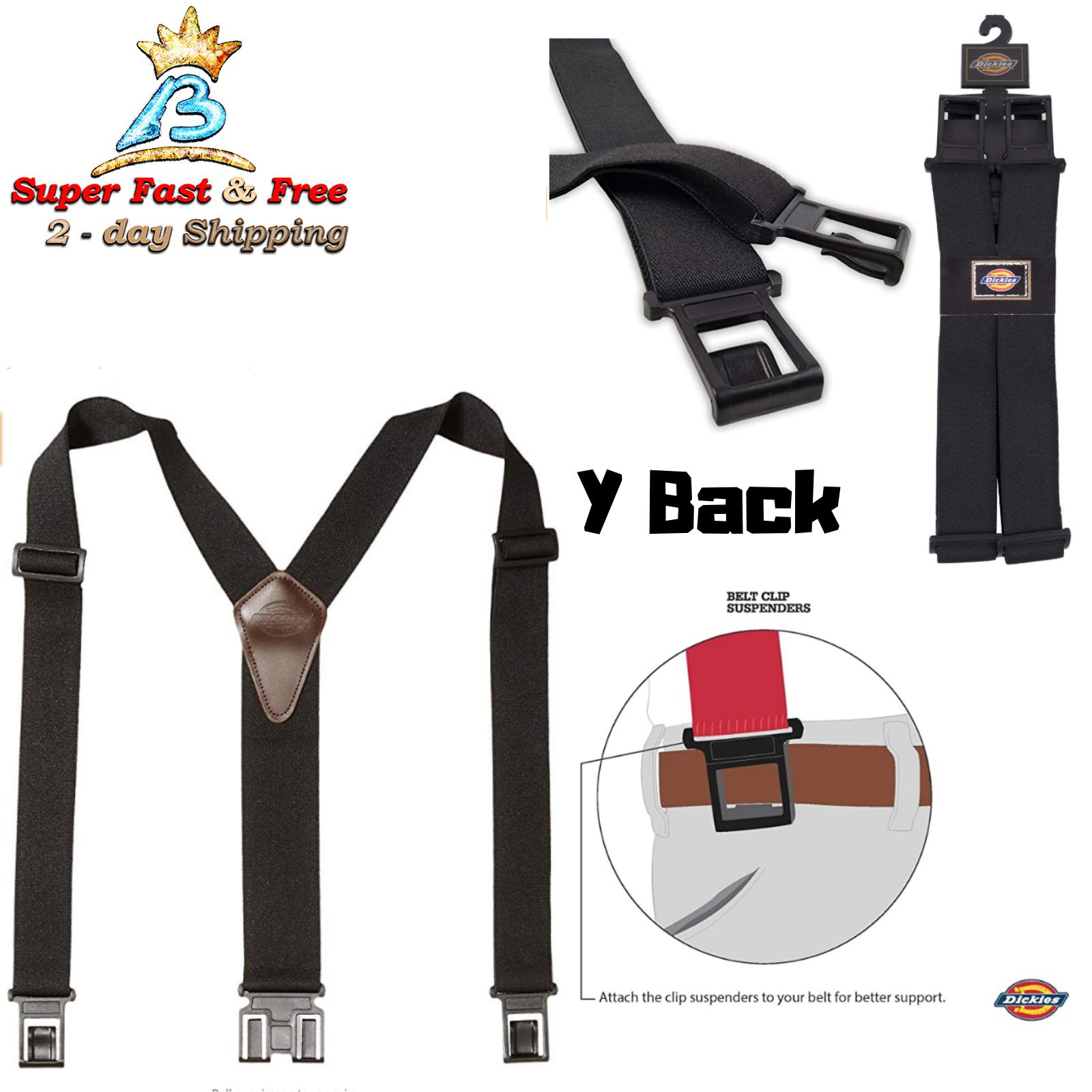Men's Suspender Black One Size Men Adjustable Attractive Qua