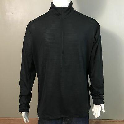 9d7585fd Patagonia Men's Capilene Slim Fit Zip Neck (43656) • XL • Black • NWT