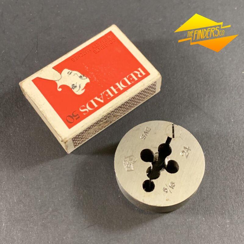 """NEW OD 25mm  tungsten steel Die Button Die wrench SAE UNF NF 5//16/"""" X 24 RH"""