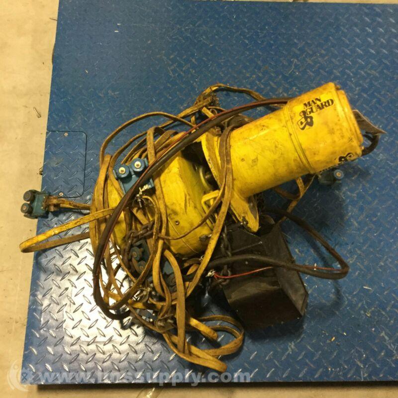 Columbus Mckinnon BEH0116 Budgit Manguard Electric Chain Hoist USIP