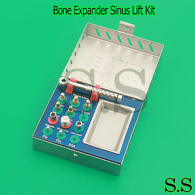 12 Pcs Bone Expander Sinus Lift Kit- Dental Implant Surgical Instruments Sterile