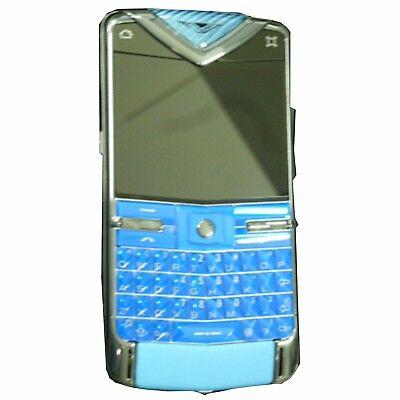 New Vertu Constellation Quest 8GB Blue Limited Edt 24/77 Factory Unlocked 3G GSM