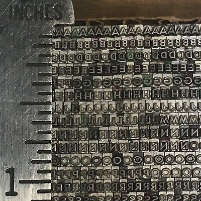 Bernhard Title Medium 6 Pt 24 - Letterpress Type - Vintage Printers Lead Metal