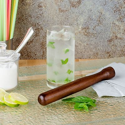 8 Mojito Muddler Solid Wood Bar Herb Crusher Citrus Cocktail Mixer New Mint B5