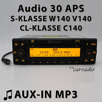 Mercedes Audio 30 APS AUX-IN W140 Navigationssystem S-Klasse CL C140 SEC Radio