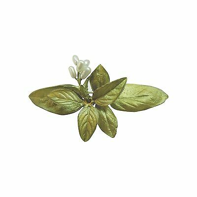 Sweet Basil Pin Brooch by Michael Michaud for Silver Seasons
