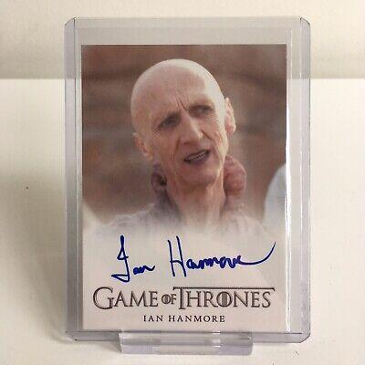 Game Of Thrones Ian Hanmore Pyat Pree Autograph Trading Card Season 2