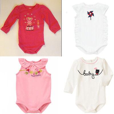 Gymboree Baby Girl Bodysuits-Tropical,Bunny,Flurries,Circus 0 3 6 12 18 24 NWT