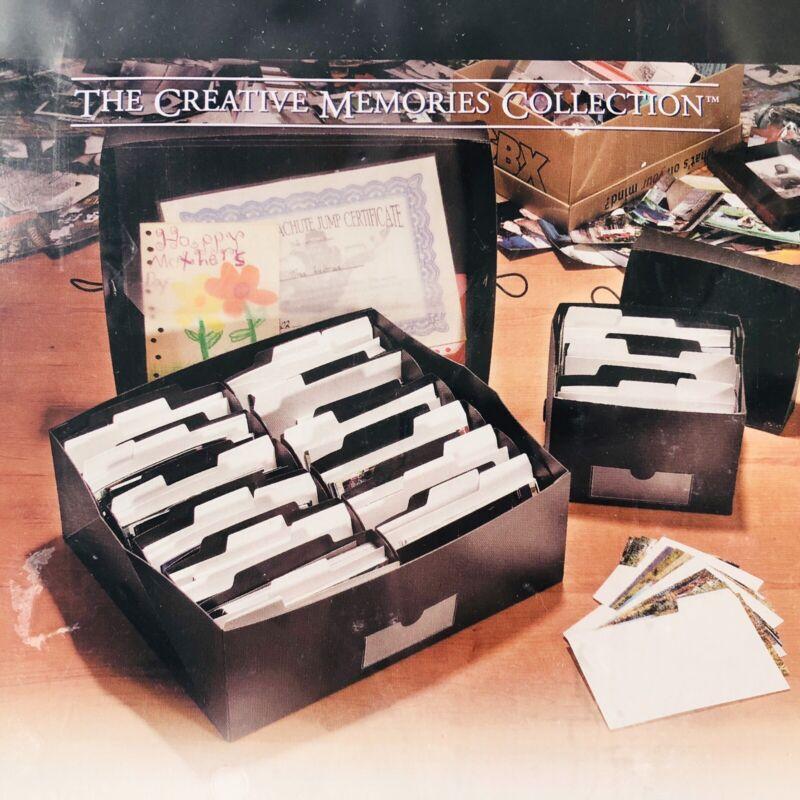Creative Memories Large Power Sort Box New and Sealed 2400 Photo Storage 623501