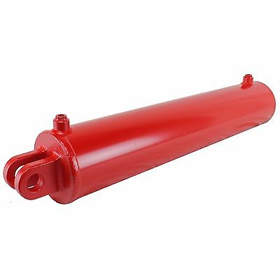 Hydraulic Cylinder 24 Inch Stroke 5 Inch Bore 2 Inch Rod Clevis End 3000 Psi