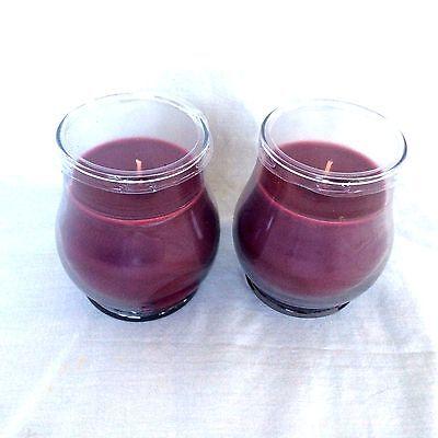 TWO 2 WARM APPLE PIE 14oz Tall Jar CANDLE Longaberger NEW USA