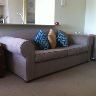 As new Queen-size Sofa Bed $300 with matching 2 seater Sofa $275 East Perth Perth City Preview