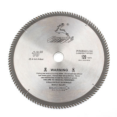 10 Inch 120teeth Aluminum Cutting Saw Blade Carbide Circular Saw Blade