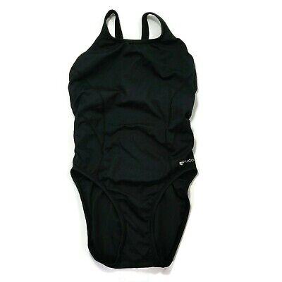 SUGOI Swimsuit Women's Size 34 Black Triathlon Swim Racer Competition (Triathlon Swimsuit Women)