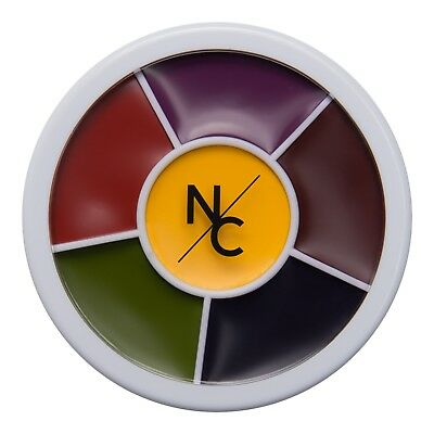 Narrative Cosmetics Bruise Wheel for Special Effects Makeup 6 Color Wheel