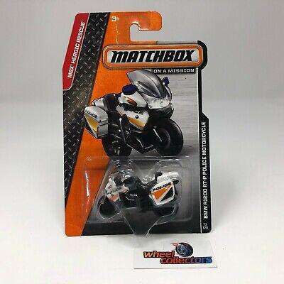 BMW R1200 RT-P Police Motorcycle * WHITE * Matchbox * NB22