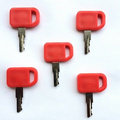 5 John Deere Ignition Keys For Heavy Equipment Tractors At195302 Ships Free