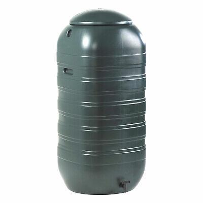 Ward Garden 250 Litre Slimline Plastic Rain Water Butt with Lid & Tap GN340