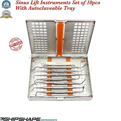 Dental Sinus Lift Instruments Implantology Sinus Lifting Oral Surgery Kit Tray