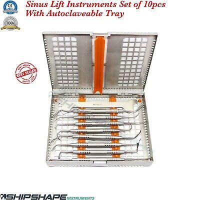 Dental Sinus Lift Instruments Implantology Sinus Lifting Oral Surgery Kit Tray