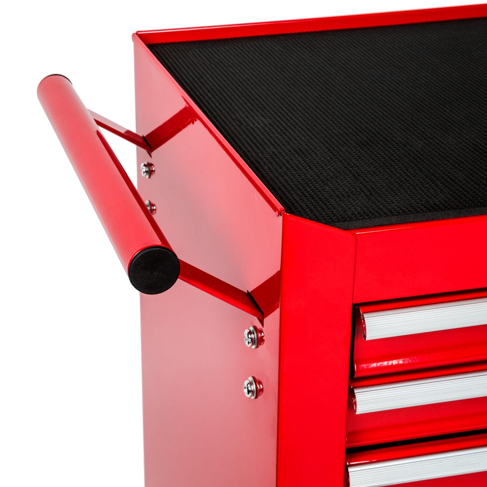 chariot d 39 atelier 7 tiroirs outils servante caisse roulettes rouge roulant eur 364 90. Black Bedroom Furniture Sets. Home Design Ideas