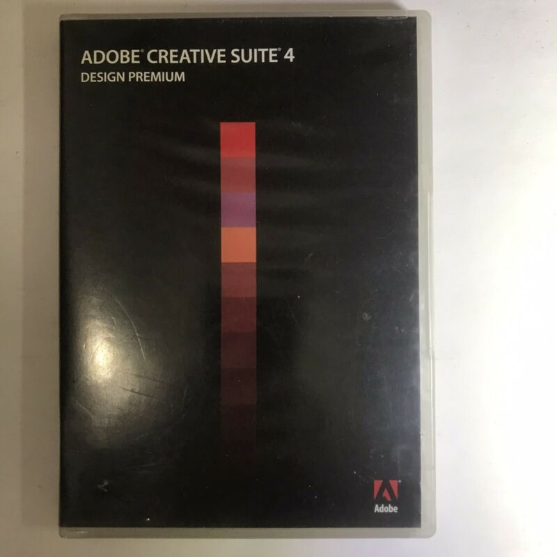 software, adobe creative suite 4,