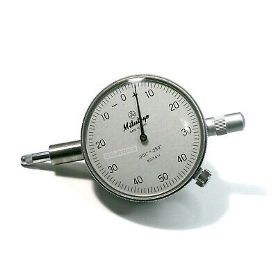 Mitutoyo Dial Indicator No. 2411 .001 - .250 Excellent Cond - Quick Free Ship