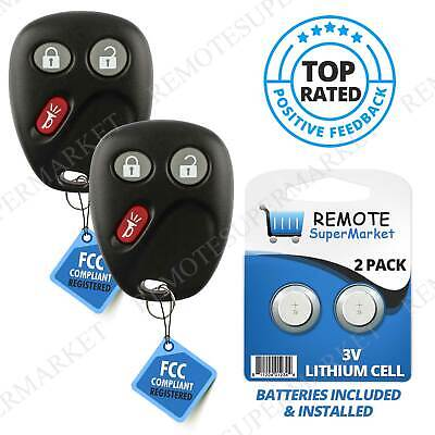 Replacement for 2003 2004 2005 2006 Chevy Avalanche Tahoe Remote Car Key Fob 2