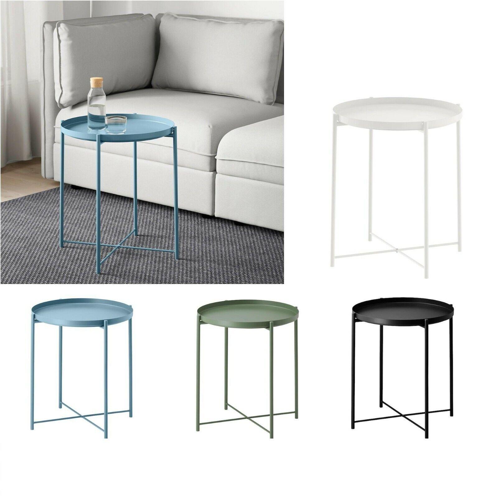 Ikea Vejmon Side Table Black Brown 601 614 67 For Sale Online Ebay