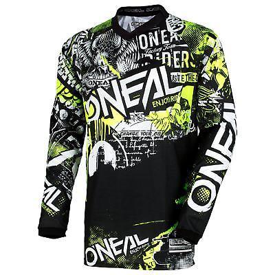 ONeal Element Attack MX Moto Cross Jersey Trikot Shirt Enduro MTB Mountainbike