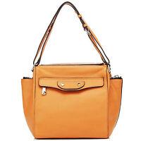 Thompson Luxury Bags ,miranda, Arancione Borsa In Vera Pelle, Borsa Arancione-  - ebay.it