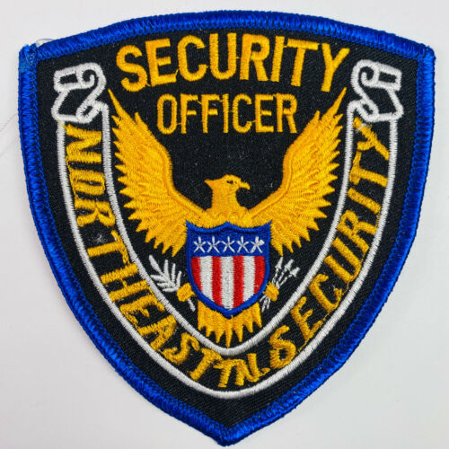 Northeast State Community College Security Blountville Tennessee TN Patch (A1)